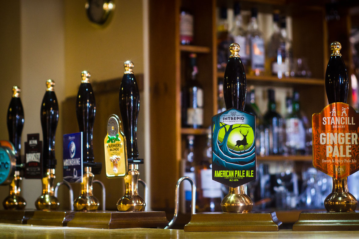 The Norfolk Arms range of beers and ciders