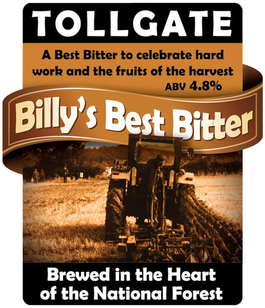 Tollgate Brewery Billy's Best Bitter