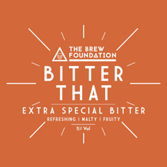 The Brew Foundation | Bitter That