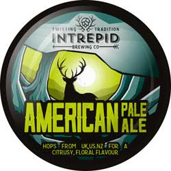 Intrepid Brewing Co | American Pale Ale pumpclip