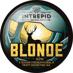 Intrepid Brewing Co | Blonde pumpclip
