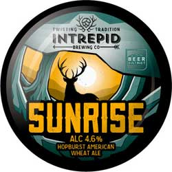 Intrepid Brewing Co | Sunrise pumpclip