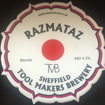 Toolmakers Brewery Razmataz