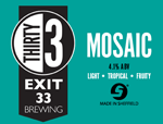 Exit 33 Brewing Mosaic