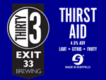 Exit 33 Brewing Thirst Aid
