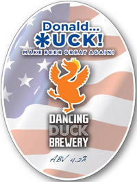 Dancing Duck Brewery | Donald *uck