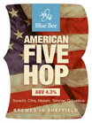 Blue Bee Brewery American Five Hop
