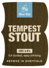 Blue Bee Brewery Tempest Stout