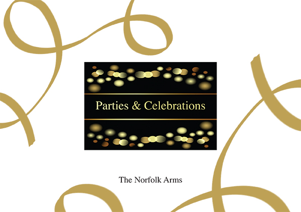 The Norfolk Arms Parties and Celebrations Brochure