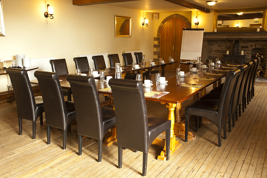 The Mayfield Room set for a business conference