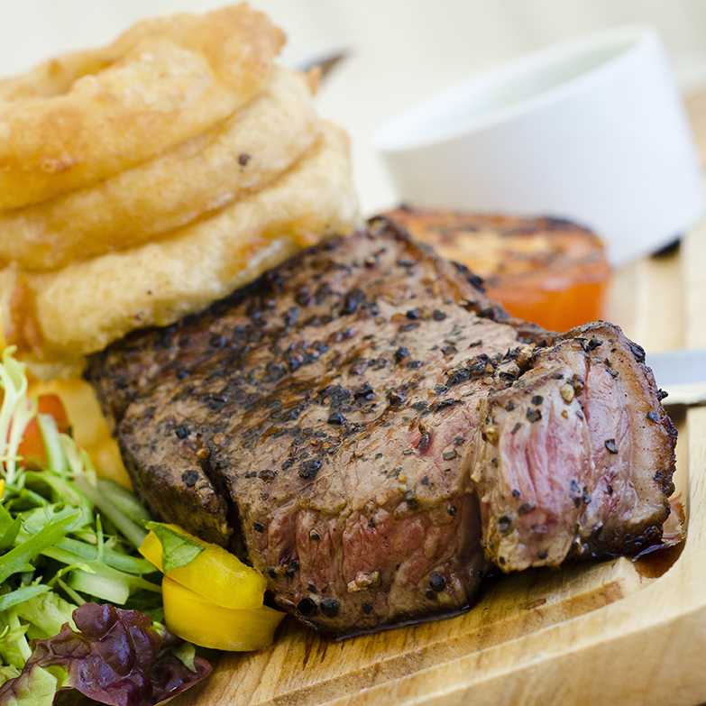 10oz Rump Steak - food served all day at The Norfolk Arms