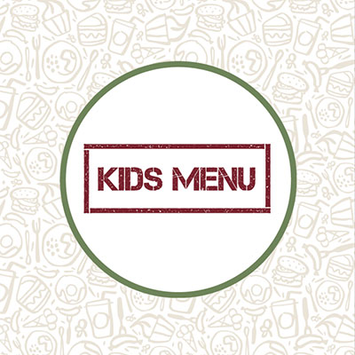 The Norfolk Arms kid's menu front cover