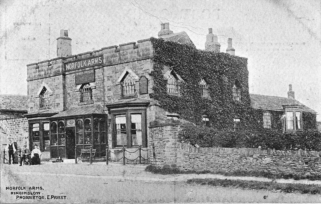 The Norfolk Arms, pictured around 1905