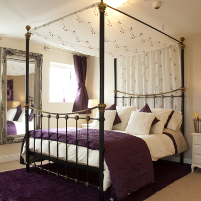 Four Star Inn Accommodation - 13 ensuite bedrooms including the 'Mayfield View' four-poster room