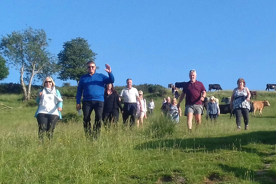 Ringinglow Walkers at Porter Valley