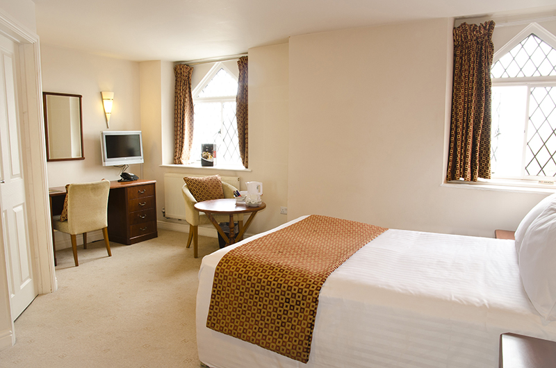 A classic double room at The Norfolk Arms