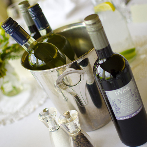 Wedding drinks packages - Wine